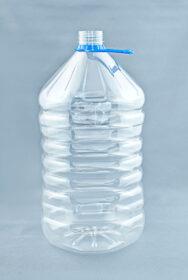 ПЭТ бутылка 5 л «Восьмиугольная» (38)
