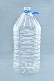 ПЭТ бутылка 5 л «Квадратная» (38)